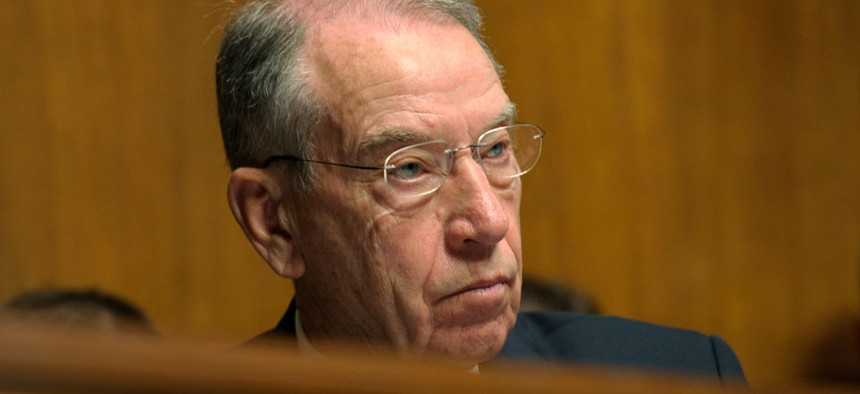 """""""It's pretty simple,"""" said Republican Sen. Chuck Grassley of Iowa. """"We don't understand why the Senate shouldn't function as it historically has functioned."""""""