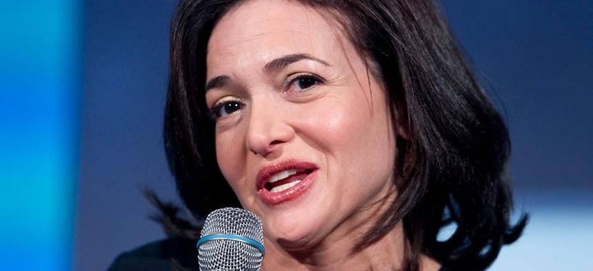 Sheryl Sandberg, the Chief Operating Officer of Facebook