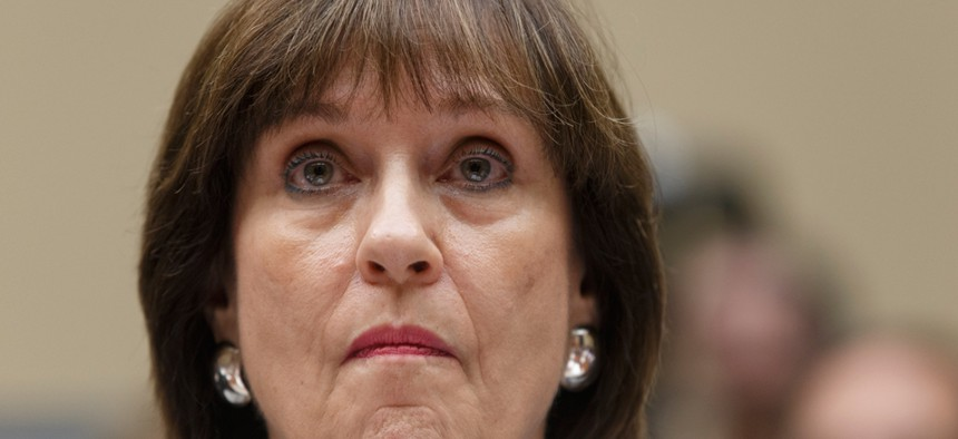 """The group says the documents show that Lois Lerner inquired at Justice as to """"whether it was possible to criminally prosecute certain tax-exempt entities."""""""