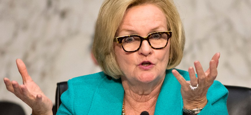 """""""Reporting a sexual assault is immensely difficult no matter where it occurs, because it is the most personally painful and private moment of a victim's life, but it is often exacerbated in these closed environments,"""" Sen. Claire McCaskill, D-Mo., said."""
