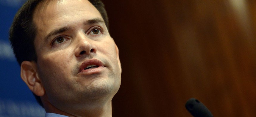 Sen. Marco Rubio, R-Fla., proposed opening the federal retirement plan to the public.