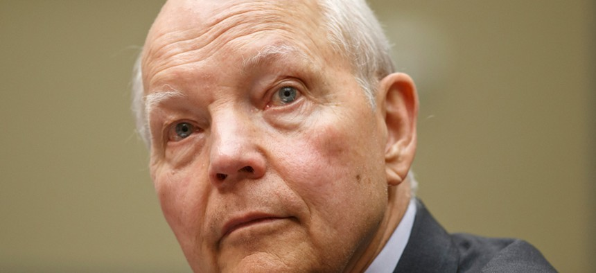 Internal Revenue Service Commissioner John Koskinen testified on Capitol Hill on June 23.
