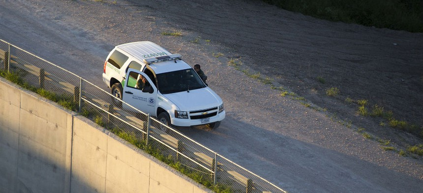 South Texas Border Patrol agents provide security in the Rio Grande Valley in September.