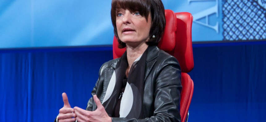 Former DARPA director Regina Dugan.