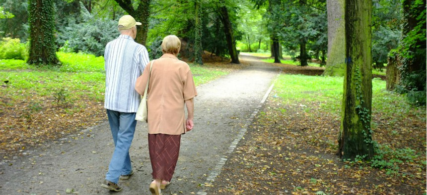 Social Security spending on the aging population is one of the main reasons for the increase.