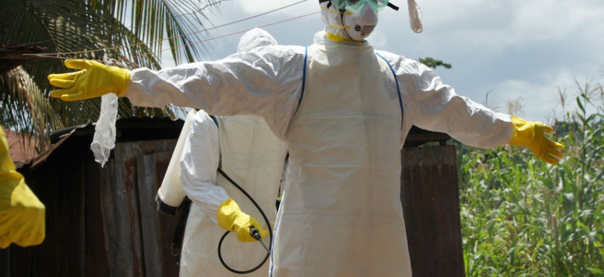 Eastern Sierra Leone is one of the epicenters of the Ebola virus outbreak in West Africa.