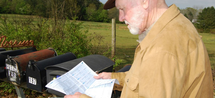 2010 census forms were mailed to more than 120 million households.