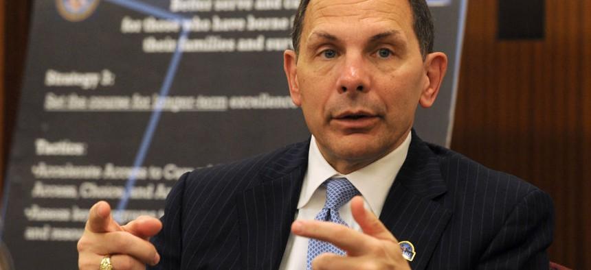 VA chief Bob McDonald announced the reorganization in November.