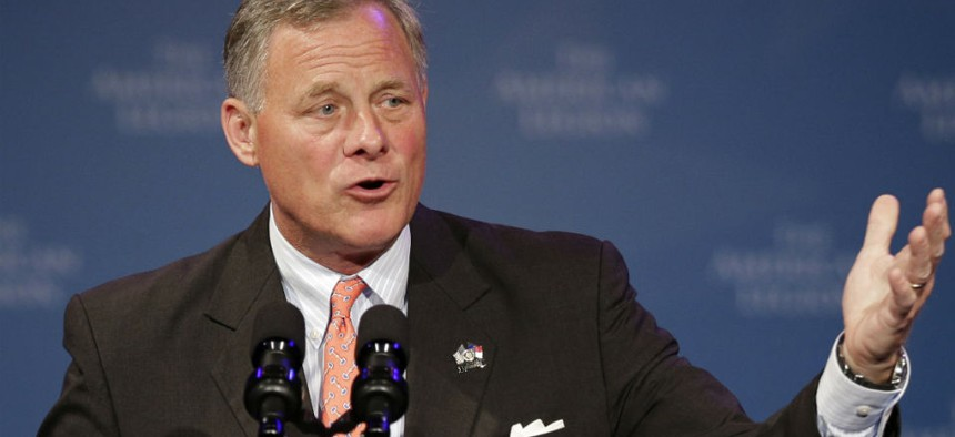 Sen. Richard Burr., R-N.C., says he supports the administration's goal of consolidating duplicative government activities.
