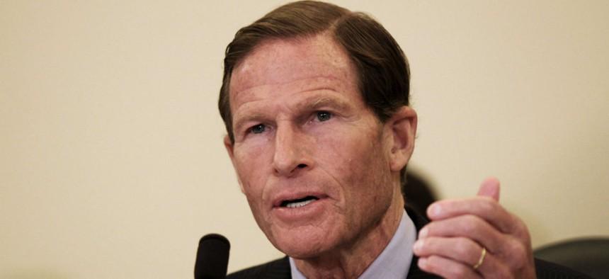 """Sen. Richard Blumenthal, D-Conn., called the VA's fiscal emergency """"management malpractice."""""""