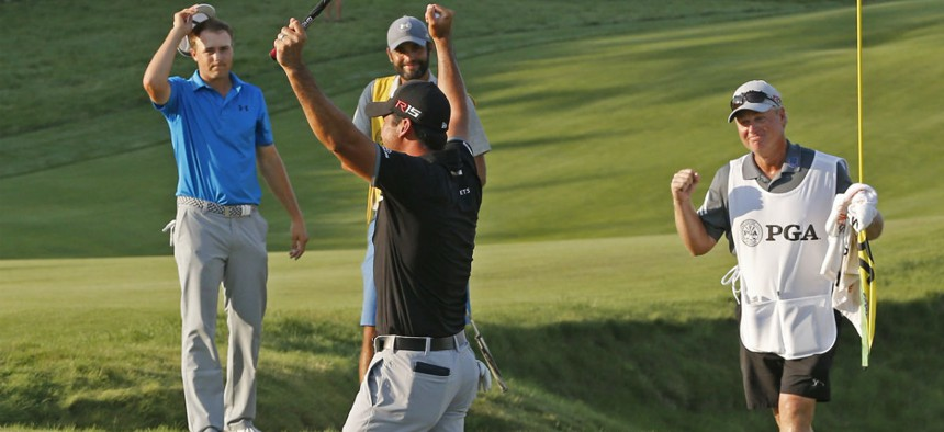 Jordan Spieth and Jason Day kept their high-stakes competition friendly.