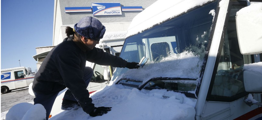 Winter weather contributed to the delays, but wasn't entirely to blame.
