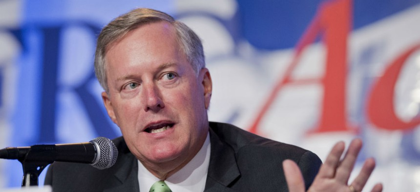 Rep. Mark Meadows, R-N.C., pressed a GSA official to pledge to pay back affected families within 30 days and clear up the invoice backlog.