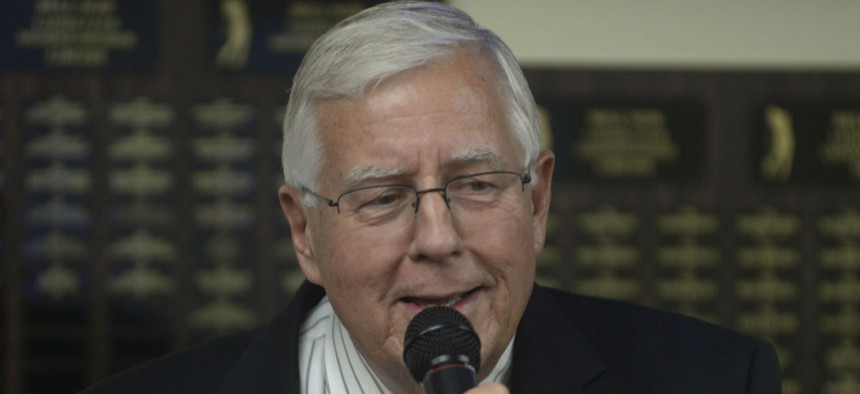 Sen. Mike Enzi, R-Wyo., has often floated a proposal to move to biennial budgeting.