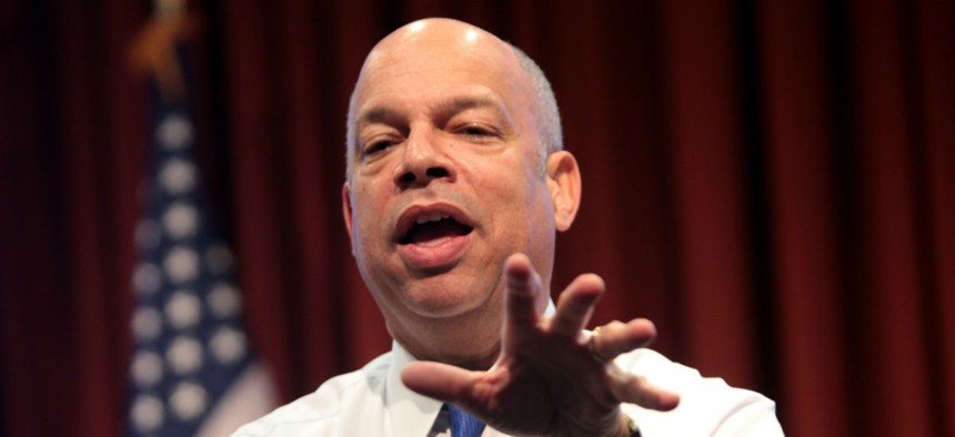 """Homeland Security Secretary Jeh Johnson launched a """"unity of effort"""" initiative 18 months ago."""
