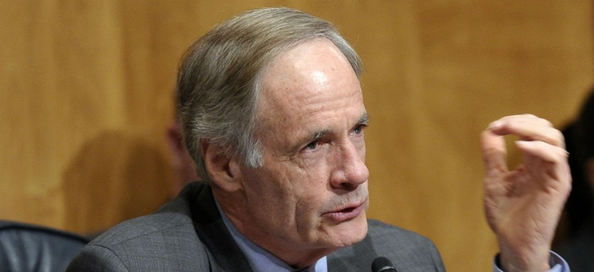 Sen. Tom Carper, D-Del., said the move will help improve faltering morale at the Homeland Security Department.