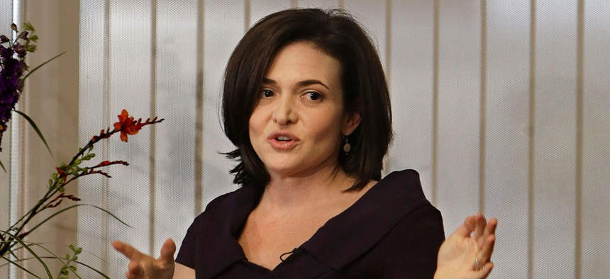 "Facebook COO Sheryl Sandberg has said, ""There are still days when I wake up feeling like a fraud."""