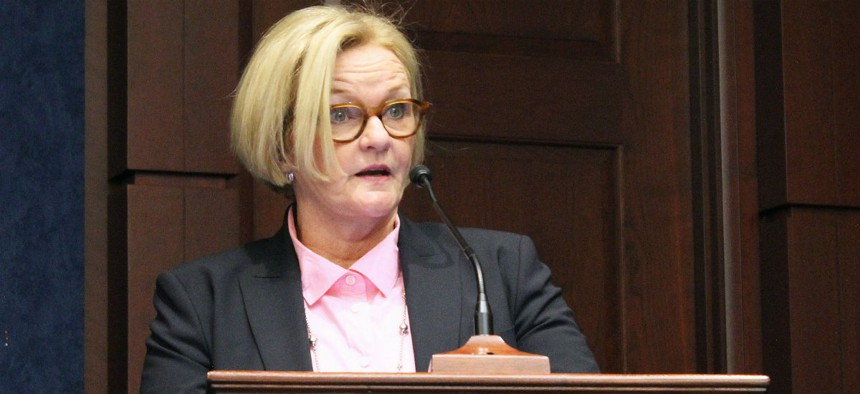 Sen. Claire McCaskill, D-Mo., sponsored the measure.
