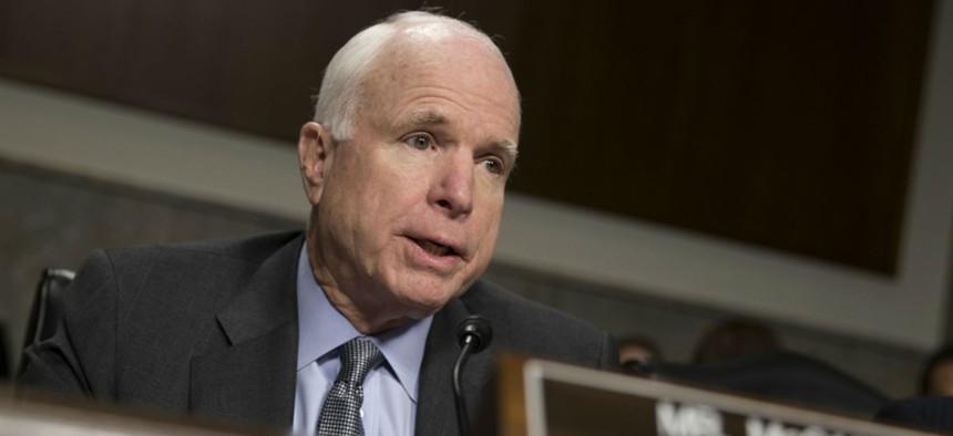 Sen. John McCain, R-Ariz., was one of four senators who signed the letter.