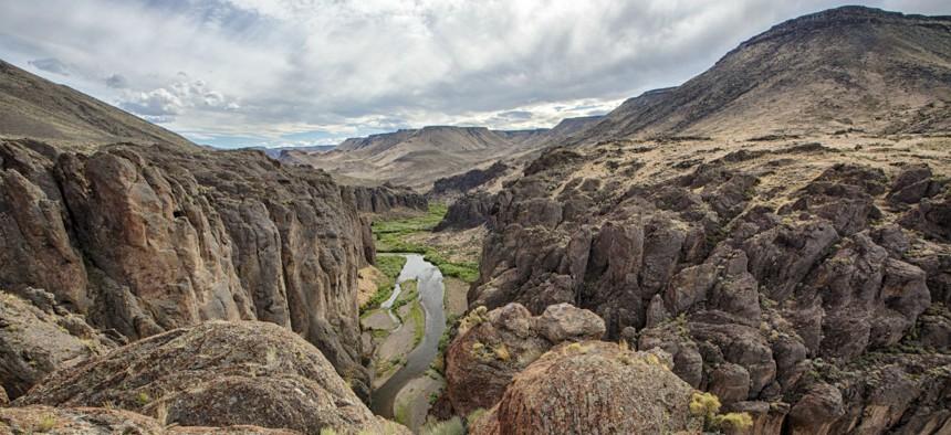 Southern Idaho's Snake River Plain.