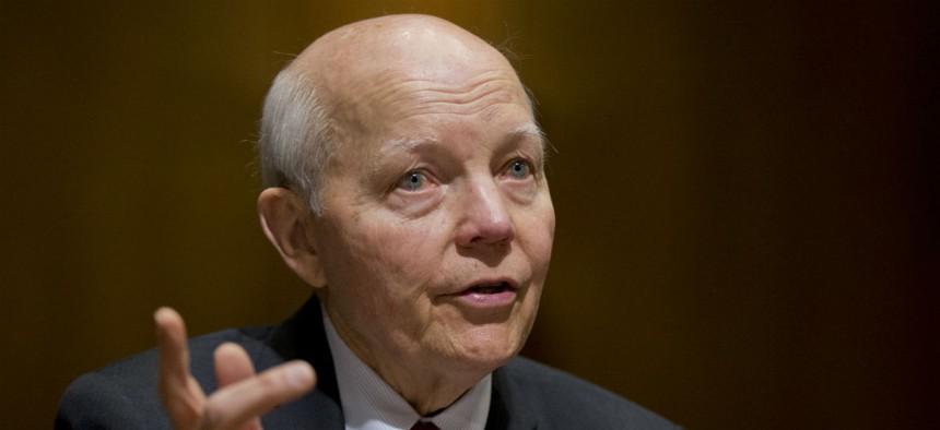 IRS chief John Koskinen