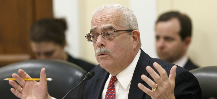 """Rep. Gerry Connolly, D-Va., in 2013 introduced a standalone measure to provide a """"simple legislative fix"""" to give EAS employees appeal rights."""