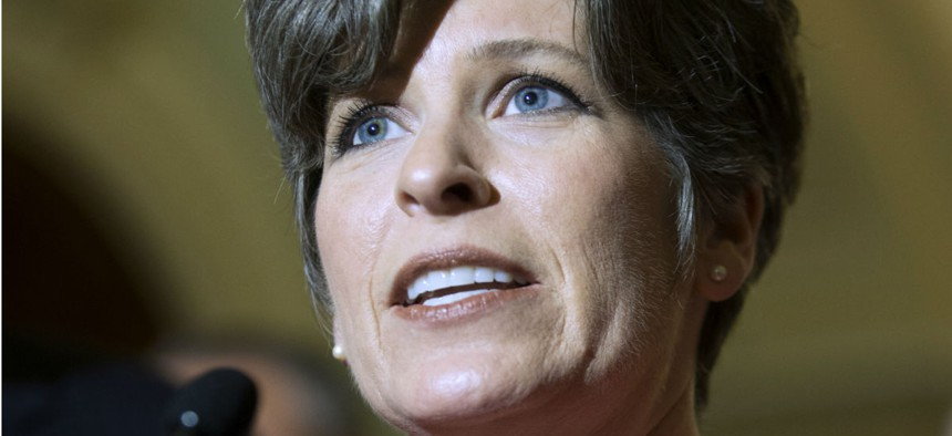 Sen. Joni Ernst, R-Iowa, is one sponsor of the bill, which will now go back to the Senate for fine-tuning.