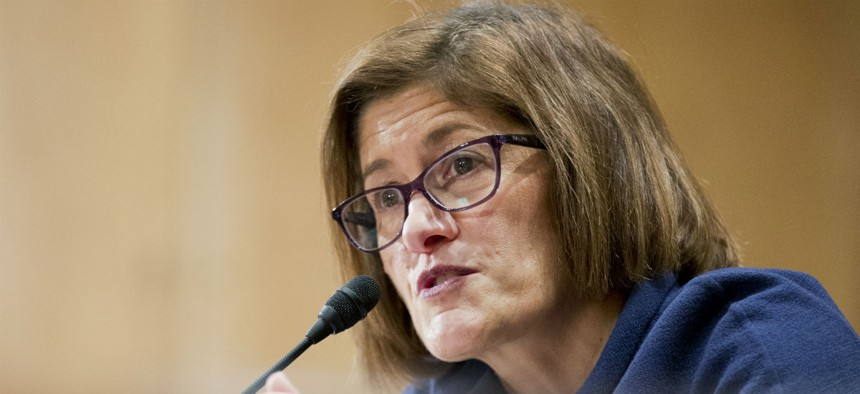 Acting OPM Director Beth Cobert and other officials stressed the bureau's focus on reducing the investigations backlog.