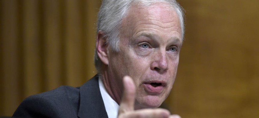 Sen. Ron Johnson, R-Wis., is one of the lawmakers who released the report.