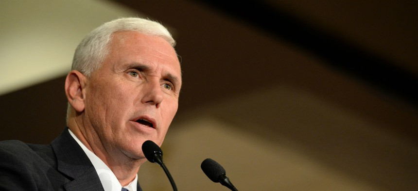 As Indiana governor, Mike Pence oversaw performance management policy for civil servants.