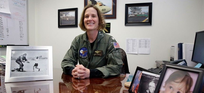 Valerie Overstreet took a sabbatical from the Navy.