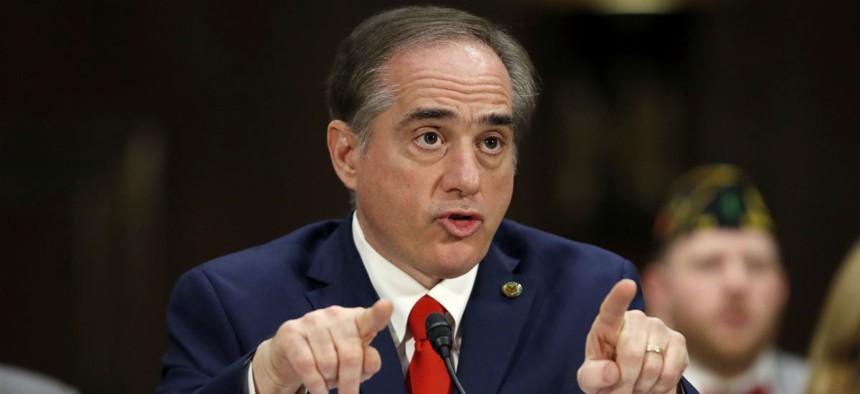 VA Secretary-designate Dr. David Shulkin testifies before the Senate Veterans' Affairs Committee.