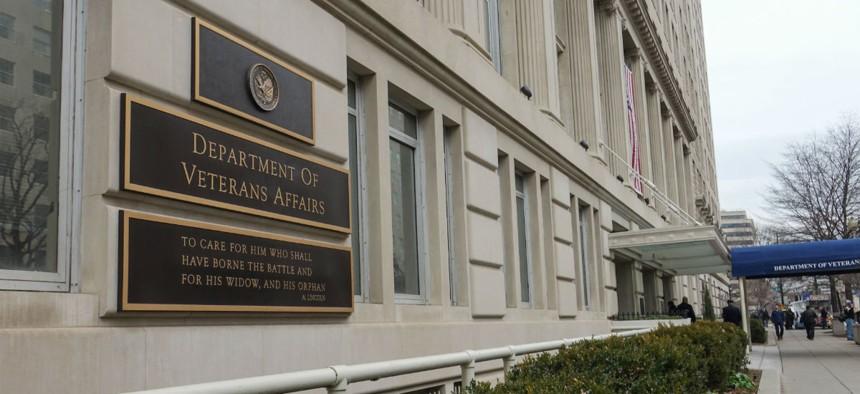 The Veterans Affairs Department headquarters in Washington.