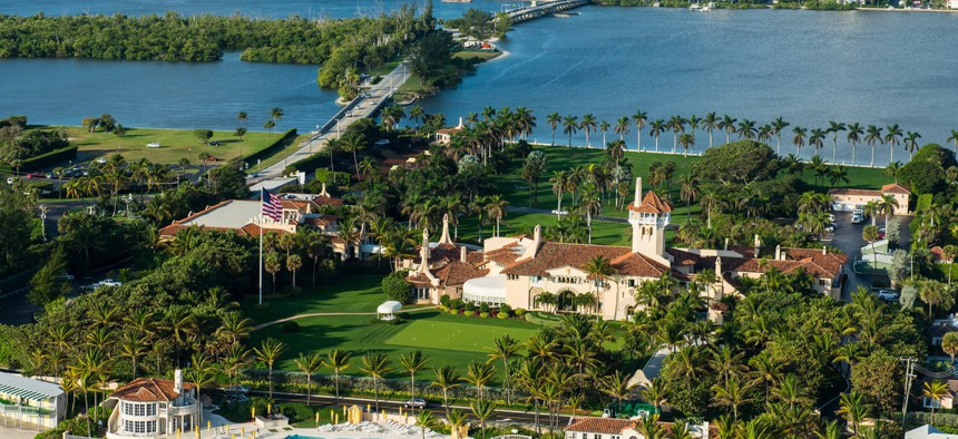 Trump's Mar-a-Lago resort is located in West Palm Beach, Florida.