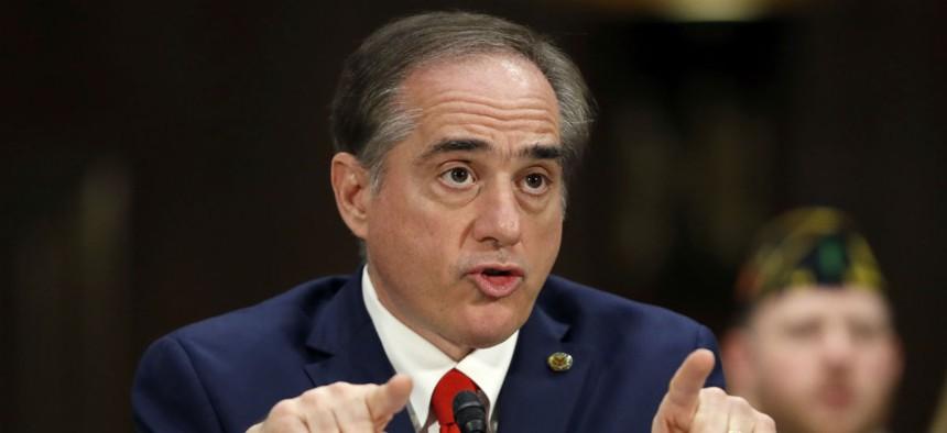 VA Secretary David Shulkin would receive expedited firing authority under one of the bills.