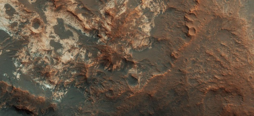 Mawrth Vallis, a valley between Mars's northern lowlands and southern highlands