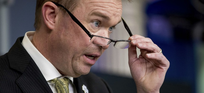 OMB Director Mick Mulvaney pushed attrition plans before as a member of Congress.