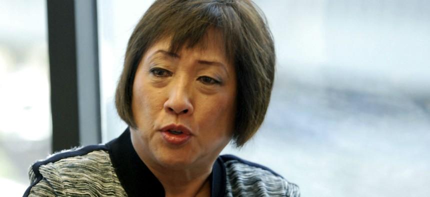 Rep. Colleen Colleen Hanabusa, D-Hawaii, said the measure would save the Pentagon money.