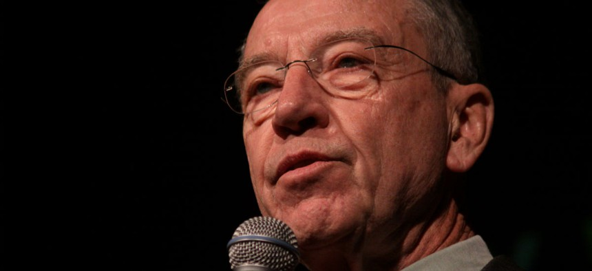 Sen. Charles Grassley, R-Iowa, says he considers White House response to his letter to be progress.