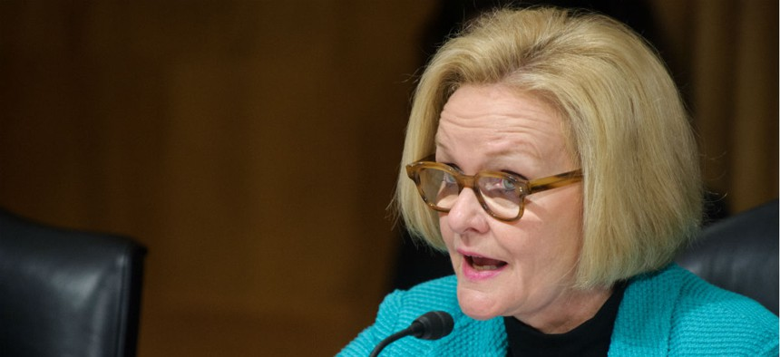 """Sen. Claire McCaskill, D-Mo., said: """"Whoever approved of this spending should be fired."""""""