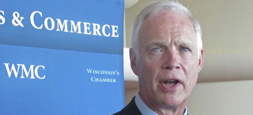 Sen. Ron Johnson, R-Wis., introduced the more controversial amendment.