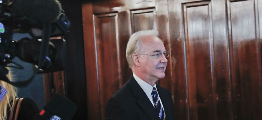 Health and Human Services Secretary Tom Price.