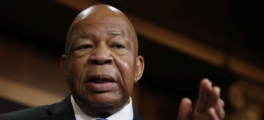 """Rep. Elijah Cummings, D-Md., says potentially """"dangerous"""" plans should not be kept secret."""
