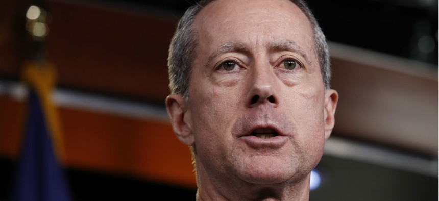 """Rep. Mac Thornberry, R-Texas, unveiled two bills aimed at downsizing the Pentagon's """"Fourth Estate."""""""
