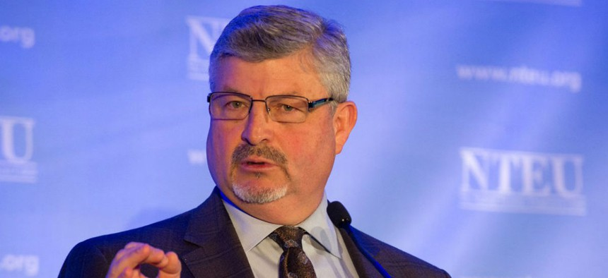 """""""HHS' so-called negotiators have shown no interest at all in continuing vital programs for employees,"""" said NTEU National President Tony Reardon."""