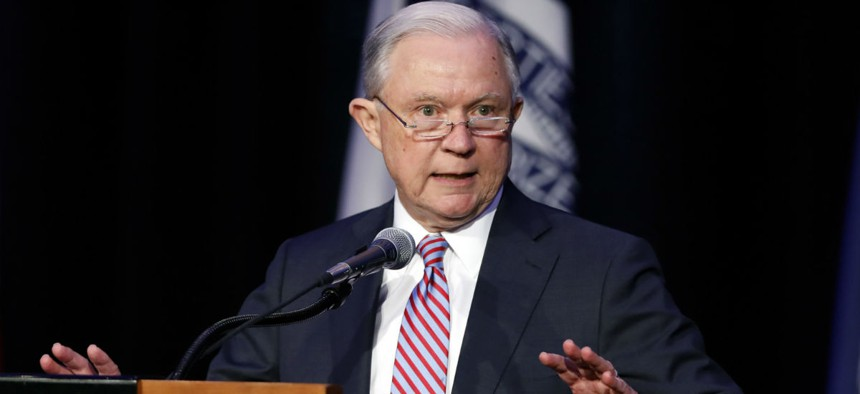 Attorney General Jeff Sessions has streamlined hiring under deadlines announced last year.