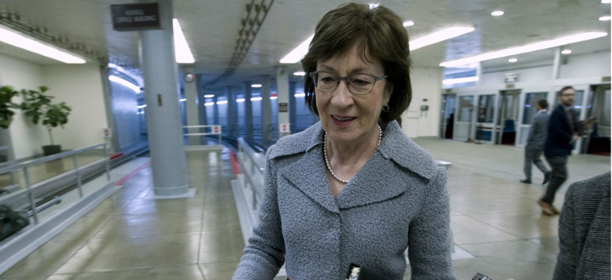 """Sen. Susan Collins, R-Maine, co-sponsored a bill that """"would ensure that administrative law judges remain well qualified and impartial, while this crucial process remains nonpartisan and fair."""""""