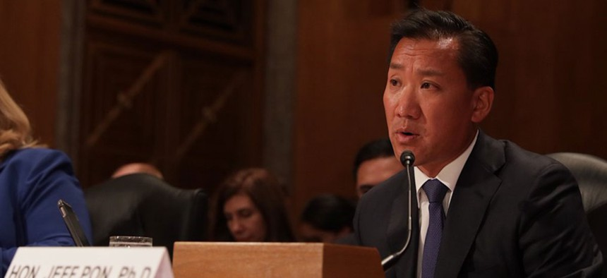 """OPM Director Jeff Pon sent a memo to agency leaders on the """"importance of creating a coaching culture."""""""