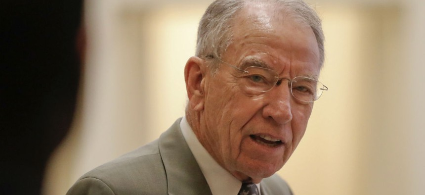 Sen. Chuck Grassley, R-Iowa, is a long-time advocate for whistleblowers.