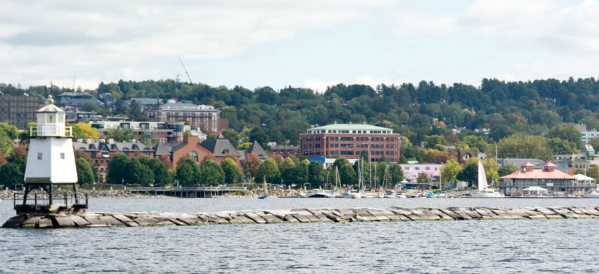 Federal workers in Burlington, Vermont, shown above, will receive a locality pay increase in 2019.